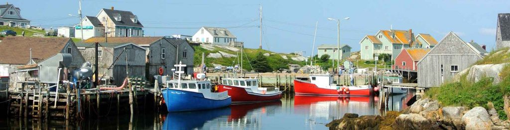Peggy's Cove in Nova Scotia