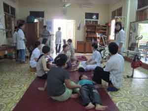 Group therapy, funded treatment