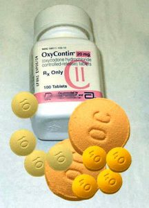 Oxy-contin bottle