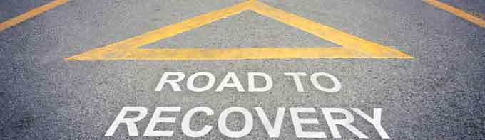 Road to recovery up ahead